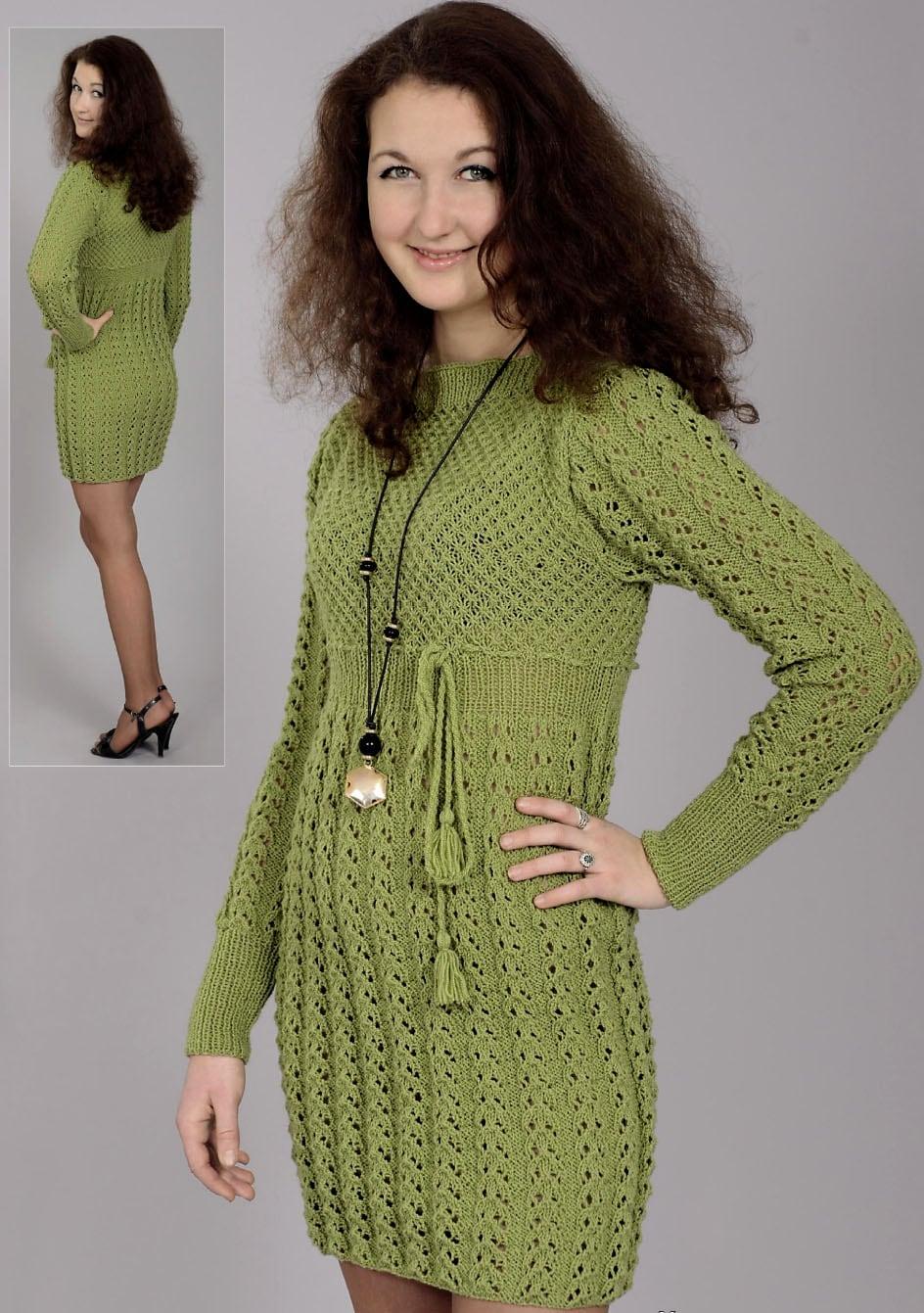 Tejer vestidos de punto mujer